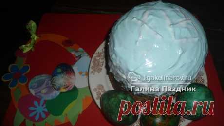 Пасхальный кулич без замеса - рецепт пошаговый с фото