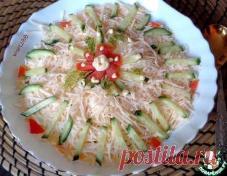 Салат «Всеохотный» – кулинарный рецепт