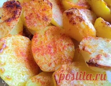 Картофель по-деревенски. Ингредиенты: картофель, соль, паприка сладкая