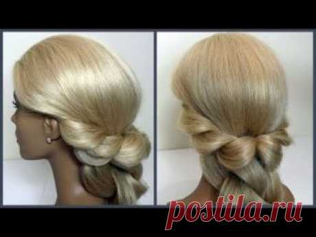 Прически.Супер Быстрый Способ.Красивые прически.Hairstyles. Super Fast. Beautiful hairstyles.