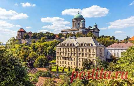 ГОРОД ЭСТЕРГОМ - древняя столица Венгерского королевства.