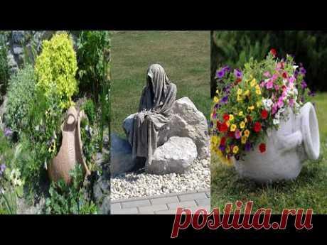 Дизайн участков идеи декора для двора и сада