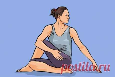 Эффективно - 5 поз йоги, которые подарят вам плоский живот за 1 месяц