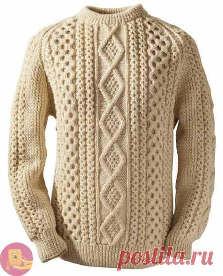 Стильный мужской свитер — Сделай сам, идеи для творчества - DIY Ideas
