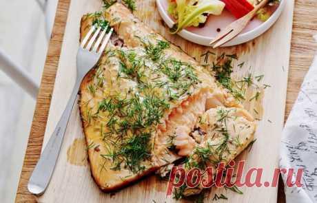 Семга с укропом на гриле - кулинарный пошаговый рецепт с фото • INMYROOM FOOD
