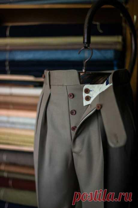 Интересная застёжка брюк