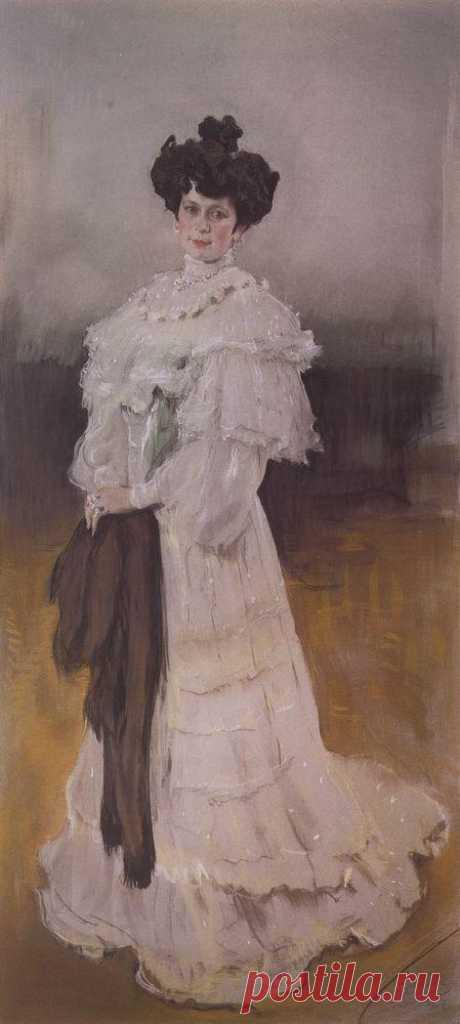 Портрет Е.А.Красильщиковой. 1906    Валентин Александрович Серов (1865-1911). Часть 1: vakin