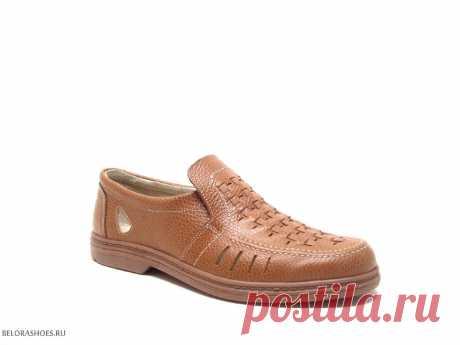 Полуботинки мужские Отико 2043, ореховый - мужская обувь, полуботинки. Купить обувь Otiko