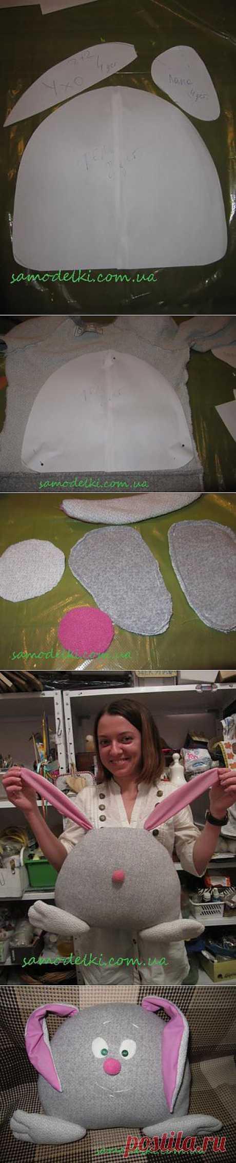 Игрушка-подушка из свитера. Мастер-класс | Самоделки