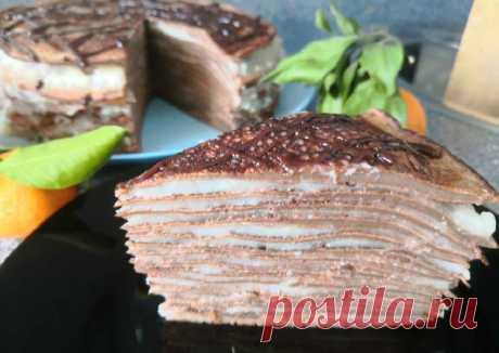 Блинный пп торт - пошаговый рецепт с фото. Автор рецепта Васёна Васёна . - Cookpad