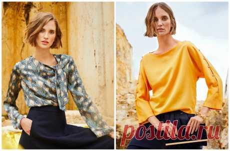 Само совершенство: 23 выкройки блузок из шелка на любой вкус — BurdaStyle.ru