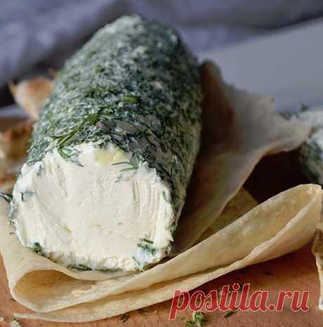 Творожный сыр за 20 минут