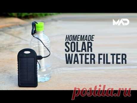 Как сделать очиститель воды из двух пластиковых бутылок