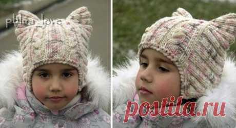"""Children's hats spokes of \""""Kotoshapka\"""""""
