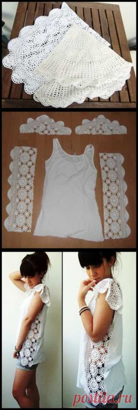 Crochetshirt from