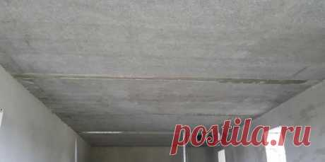 Как сделать ровный потолок если плиты перекрытия кривые