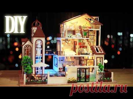 DIY Miniature Dollhouse Kit    Love You All The Way - Miniature Land