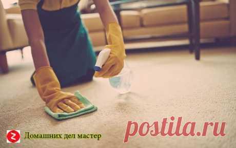 Как почистить ковёр не прилагая особых усилий? | Домашних Дел Мастер | Яндекс Дзен