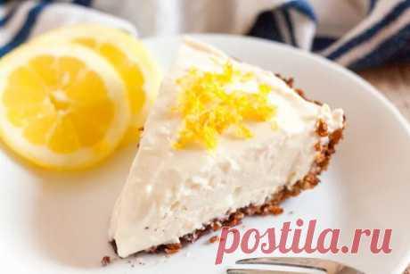 Рецепт лимонного кето пирога без муки (с подсчётом БЖУ)