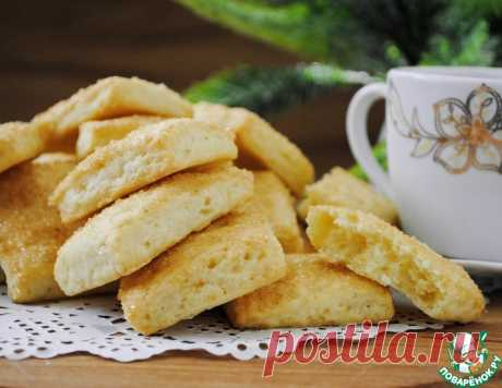 Сметанное печенье к чаю – кулинарный рецепт