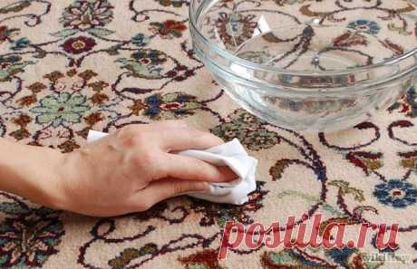 Than to remove spots on carpets?