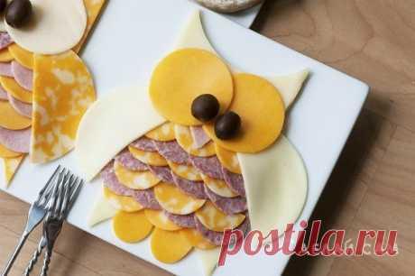 Креативные нарезки - идеи оформления блюд для детей