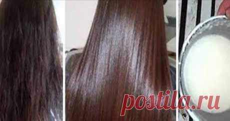 Узнайте, как естественным образом выпрямить волосы с помощью кокосового масла!   mirkrasoti.info