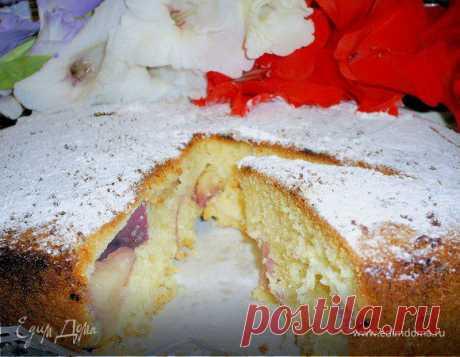 Пирог с нектаринами (вариант рецепта от Рут Оливер с другими пропорциями)
