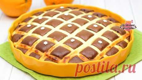 Шоколадно-творожный пирог стеганое одеяло