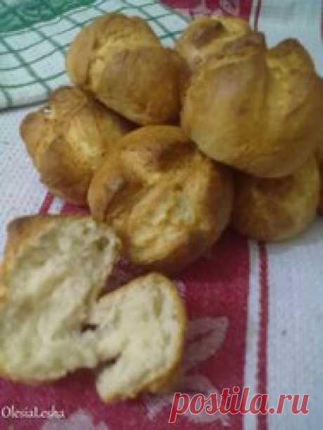 Французские булочки,те самые...хрустящие(легко и просто)))