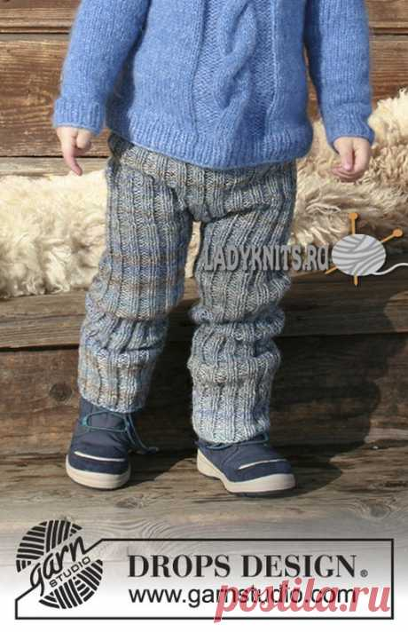 How to connect by spokes trousers for the boy from 2 to 12 years, the description