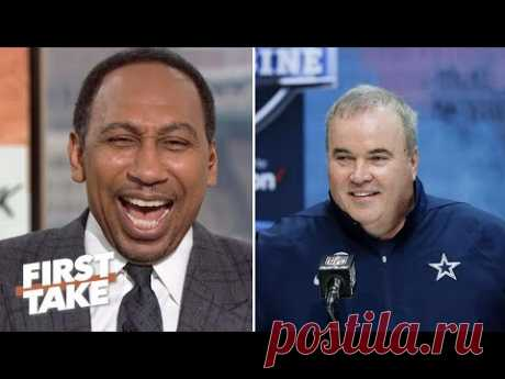 Stephen A. reacts to Dallas Cowboys fire Mike McCarthy