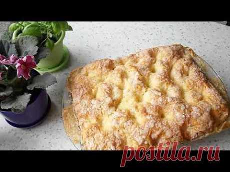 Французский сахарный пирог.# French sugar cake.#