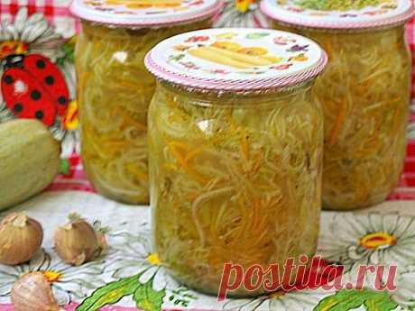 Салат из кабачков по-корейски на зиму — СОВЕТНИК
