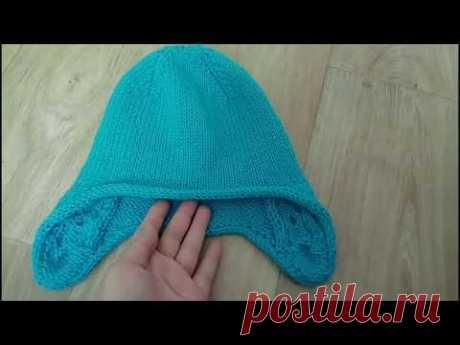 Как обвязать шапку, чтобы НЕ ЗАКРУЧИВАЛАСЬ -  полым шнуром ( I-CORD)