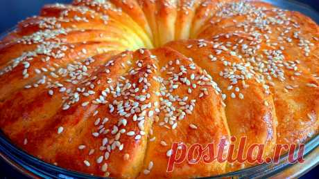 """Такой вкусный хлеб можно печь хоть каждый день! Хлеб """"Ухо слона"""", пошаговый рецепт.   Рецепты от Асине   Яндекс Дзен"""