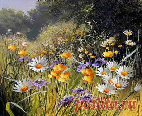 У неё не было художественного образования, а её работы скупались коллекционерами и восторгали критиков — цветы Мэри Дипнэлл   Глазами художника   Яндекс Дзен