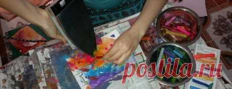 Энкаустика – техника рисования картин воском Далеко не новое и не совсем знакомое, но начинает набирать популярность это дивное увлечение под названием энкаустика – техника рисования картин воском.