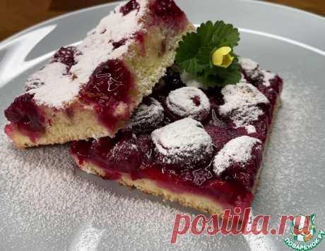 Вишневый пирог – кулинарный рецепт