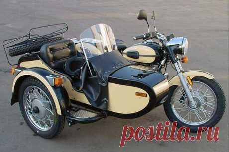 Советские мотоциклы шли на экспорт.