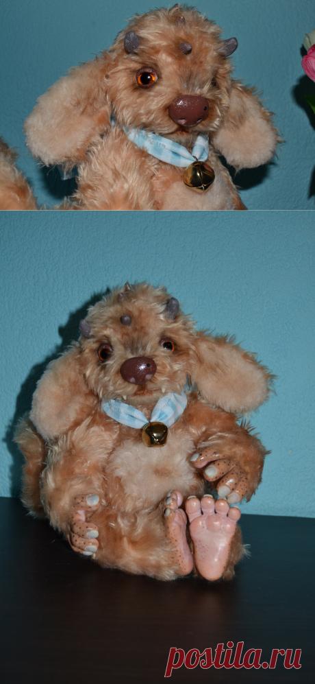 Сказочный зверёк, Мастерская Маришкина кукла, Мастер Marisha18 - https://LangeSTORE.ru