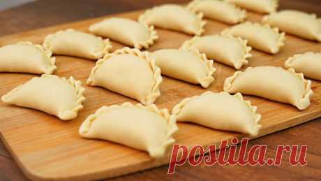 Вареники с капустой – вкусный, постный рецепт из доступных продуктов