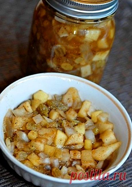 Яблочное Чатни. Готовим вкусный соус на зиму.