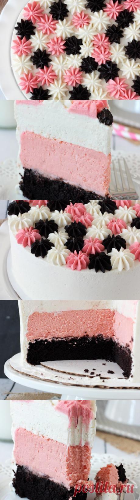 Cake Neapolitan millionaire | Sweet Twittes