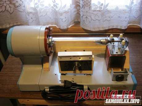 Токарный станочек из гладильной машины своими руками
