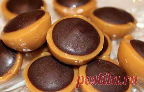 Рецепт конфет тоффи
