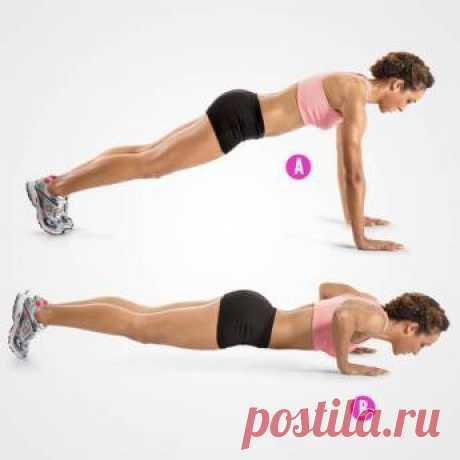 7 Упражнений для Быстрого Похудения за 4 Недели Семь прекрасных упражнений для быстрого похудения, которые занимают всего 10 минут в день и помогут Вам преобразовать каждую часть Вашего тела.