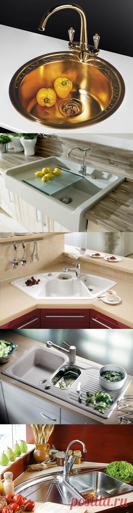 Мойки для кухни фото и, как правильно выбрать мойку для кухни.