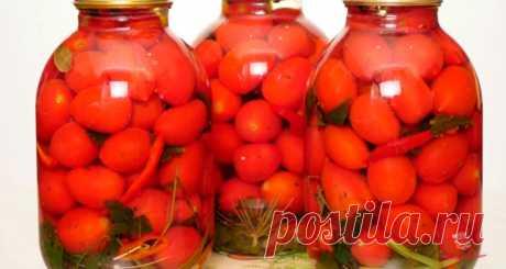Лучшие маринованные помидоры на зиму🍅🍅🍅