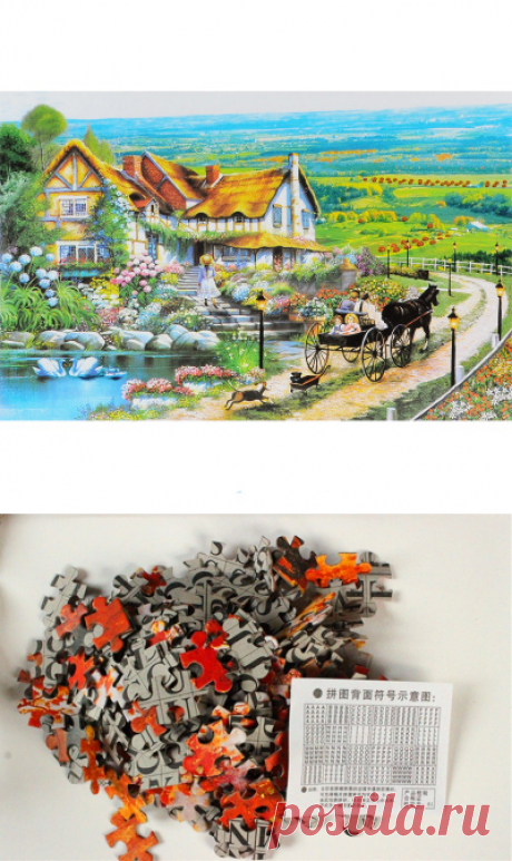Puzzles on 1000 details - 936 rubles for any! It is possible to look at all range having clicked a photo. Free shipping!
